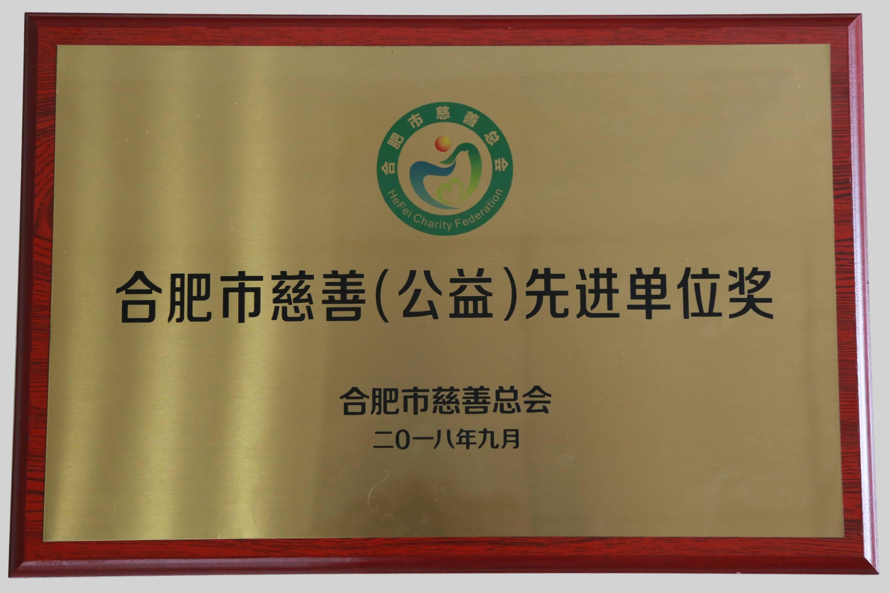 上海市慈善(公益)先进单位